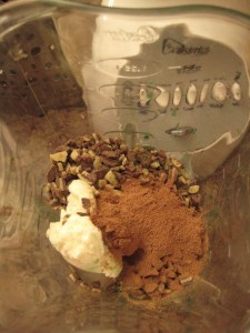 Minto Mocha Frappuccino Ingredients
