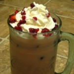 Raspberry Malt Iced Coffee