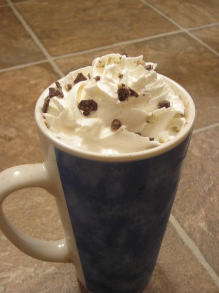 Mint Mocha Frappuccino